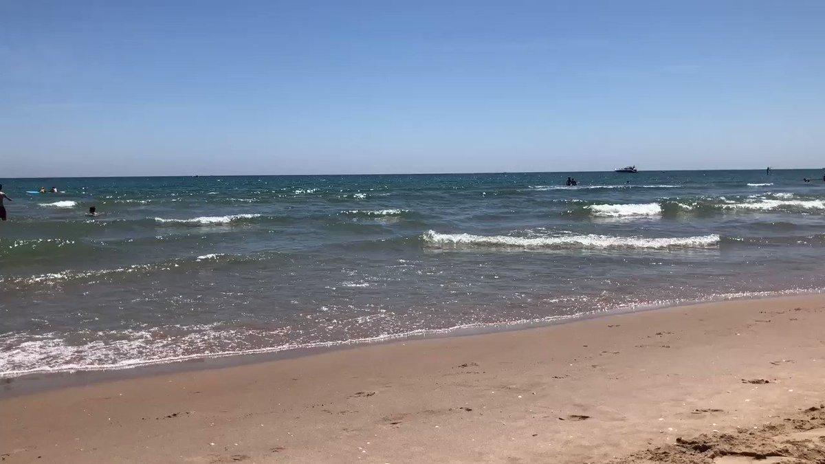 Mediterráneo Mar que hoy trae esperanza y vida a las costas de Valencia #AcuariusYaEnValència