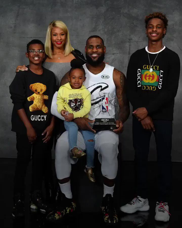 LeBron grew up without a dad. Now he's one of the best father figures in sports. 🙌