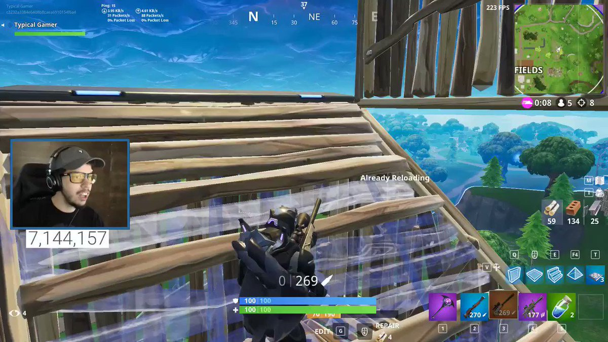 one of my craziest Fortnite clips ever