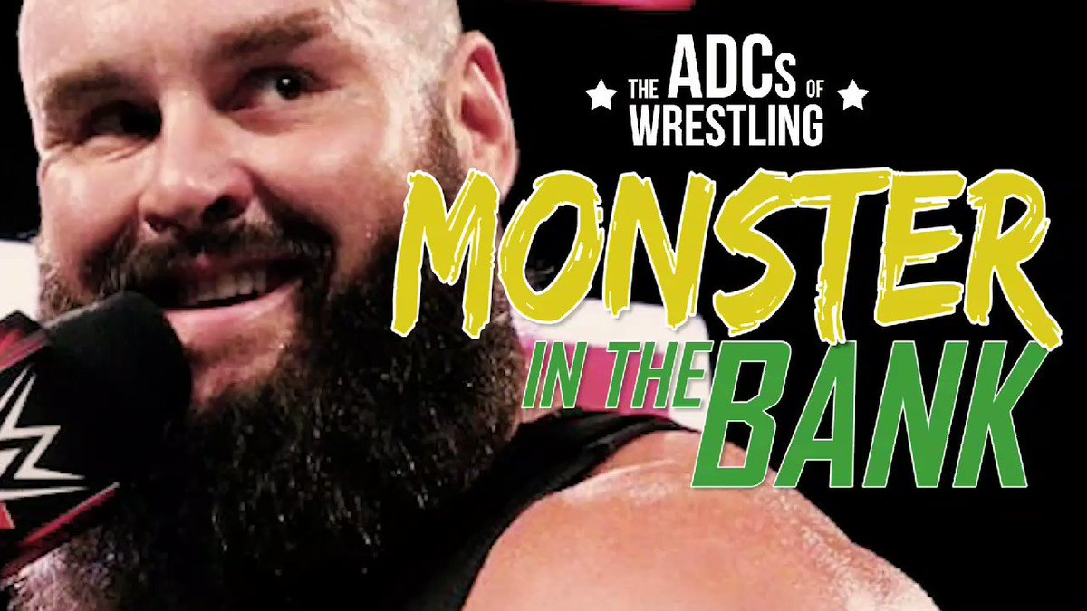 Who wants @BraunStrowman to become the #MonsterInTheBank? 😂😂😂 SUBSCRIBE to The #ADCsofWrestling on iTunes or your favorite podcast app: itunes.apple.com/ca/podcast/the… **SOUND ON** #MITB #nxttakeover