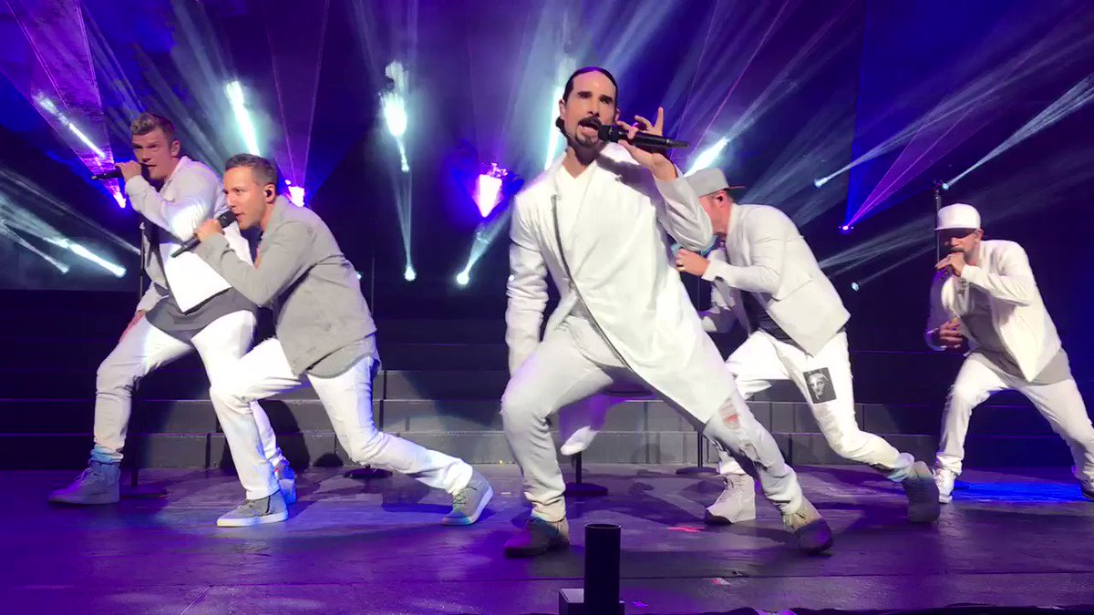 I gotta go... back to this moment again and again forever #BackstreetBoys at #Kiss108KissConcert