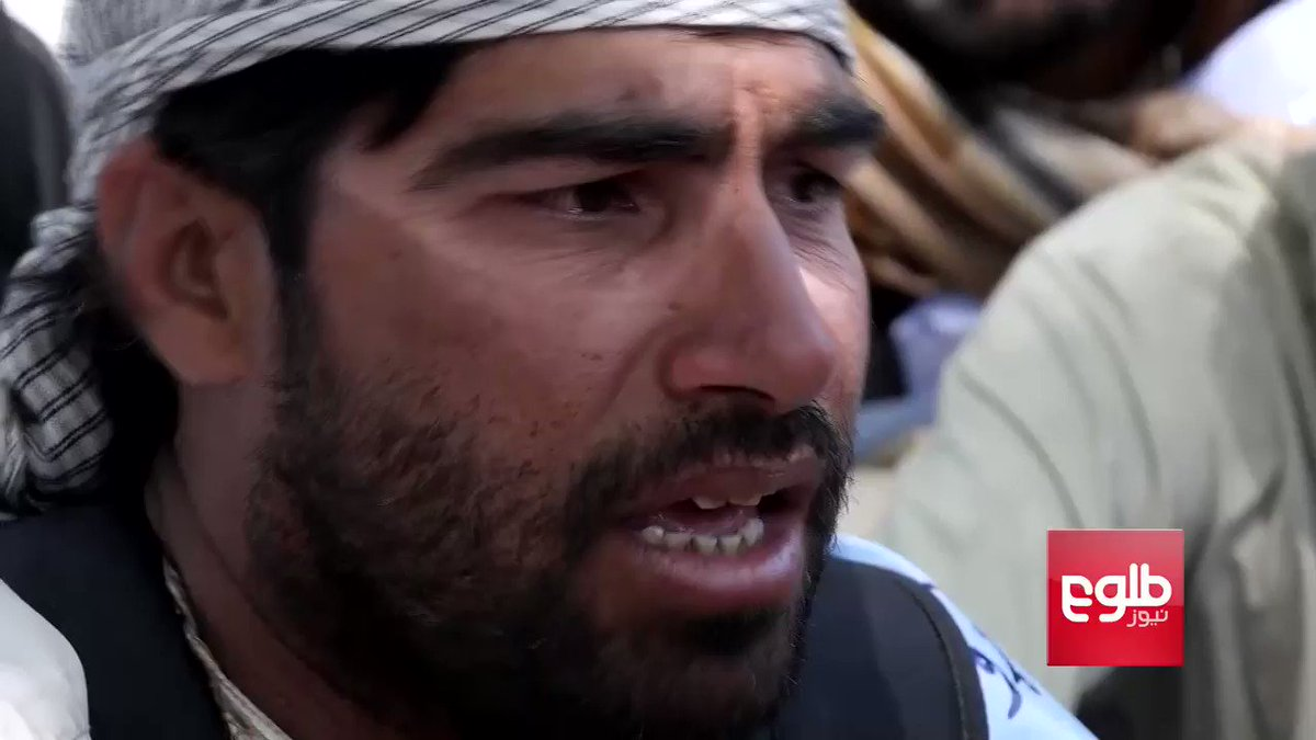 """Emotional peace convoy activists who have arrived in #Kabul plead for the war to end. """"We dont want this anymore and army and Taliban are brothers so why are they fighting,"""" said a member of Helmand Peace Convoy #Afghanistan"""
