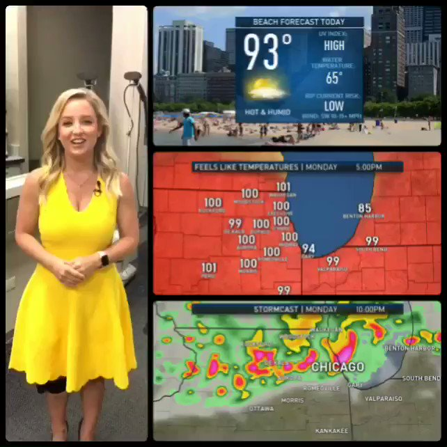 KALEE DIONNE HOT - Who is the hottest weather