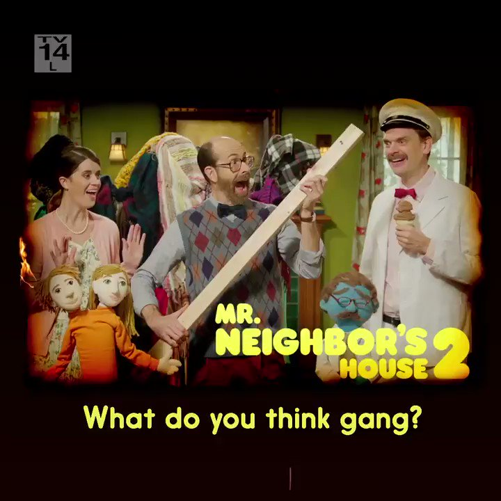 Tell the truth. Watch the special. Mr. Neighbor's House 2 premieres Sunday at midnight.