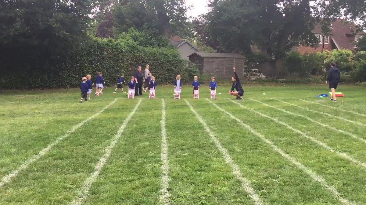 The Kindergarten children have been practising hard for Sports Day this Friday. #SportsDay2018 #LongacreLife