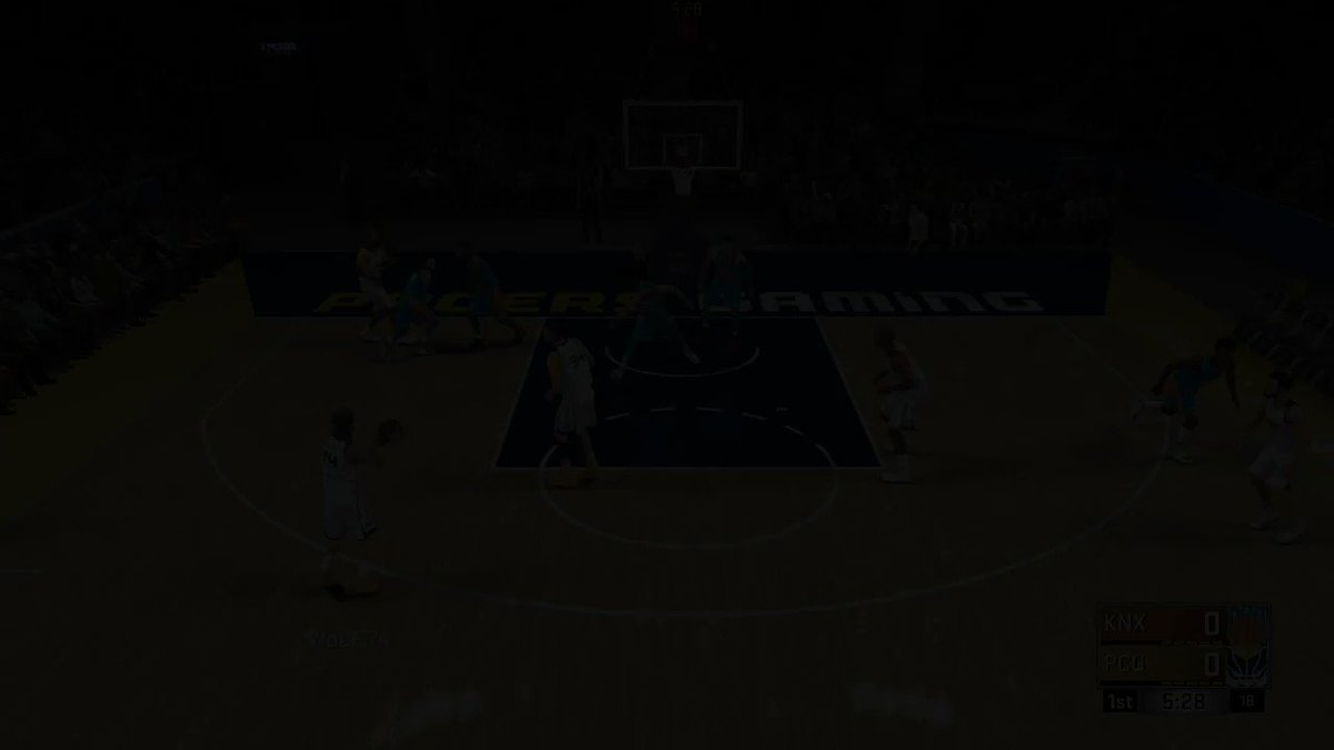Highlights from last weeks first regular season win against Knicks Gaming! #PacersGaming