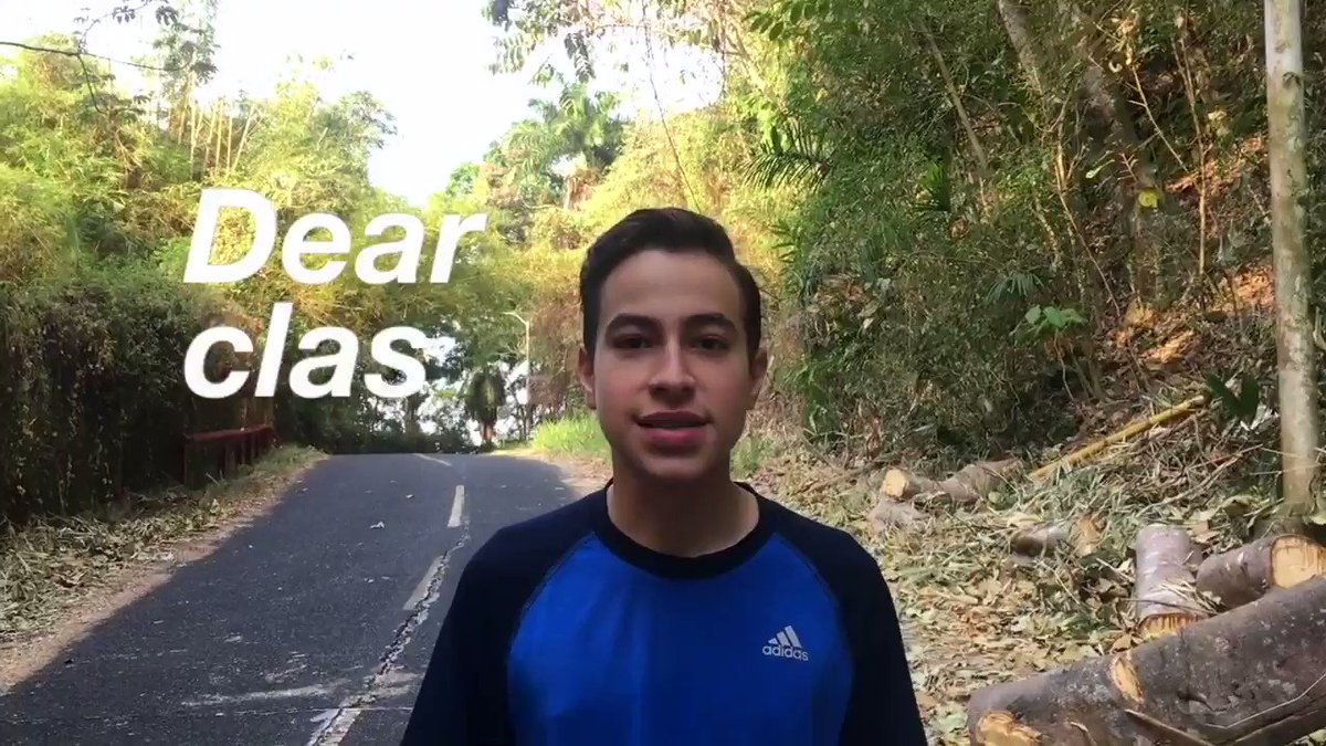 This student has an inspiring message for the class of 2018. #education #k12 #tlim
