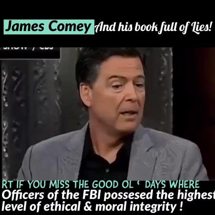 "Disgraced Ex FBI Director ""Leaker Comey"" who pissed on both parties to teach our kids on ""morals and ethics"" . .. @williamandmary #liedUnderOath #TuesdayThoughts #WednesdayWisdom #FridayFeeling @USANEWS007 @DonaldJTrumpJr @mikandynothem @John_KissMyBot #MorningJoe @RexPolitics"