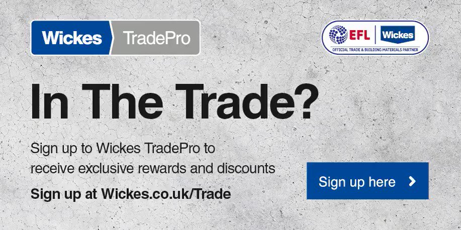 🔨 | In the Trade? Receive exclusive rewards, discounts and benefits when you become a @Wickes TradePro member. To find out more visit bit.ly/2KqIW2N