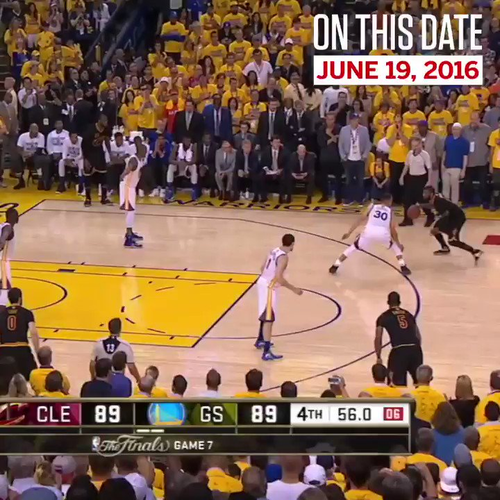 2 years ago today, Kyrie hit the dagger in Game 7. https://t.co/anJ1rTrAFk