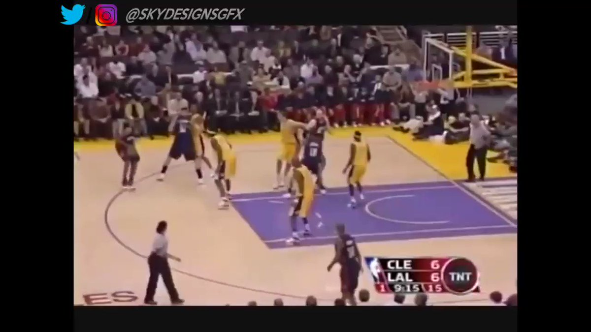 Throwback to 21 year old Lebron in 2005-2006. He really averaged: 31.4 PTS/ 7.0 REB/ 6.6 AST 48% FG This is the first season people began thinking he was the best player in the NBA.