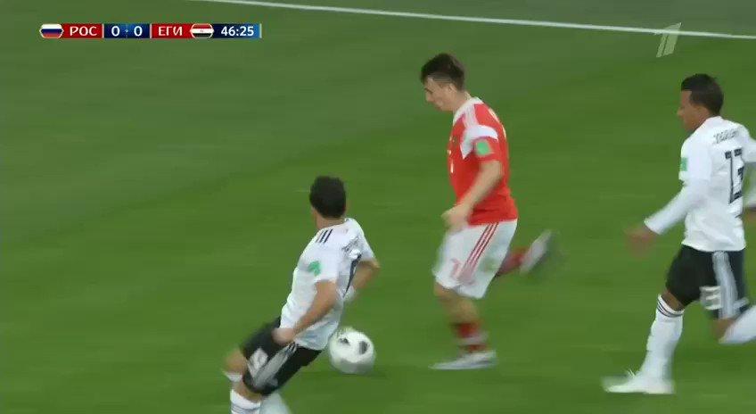 Все голы матча Россия - Египет