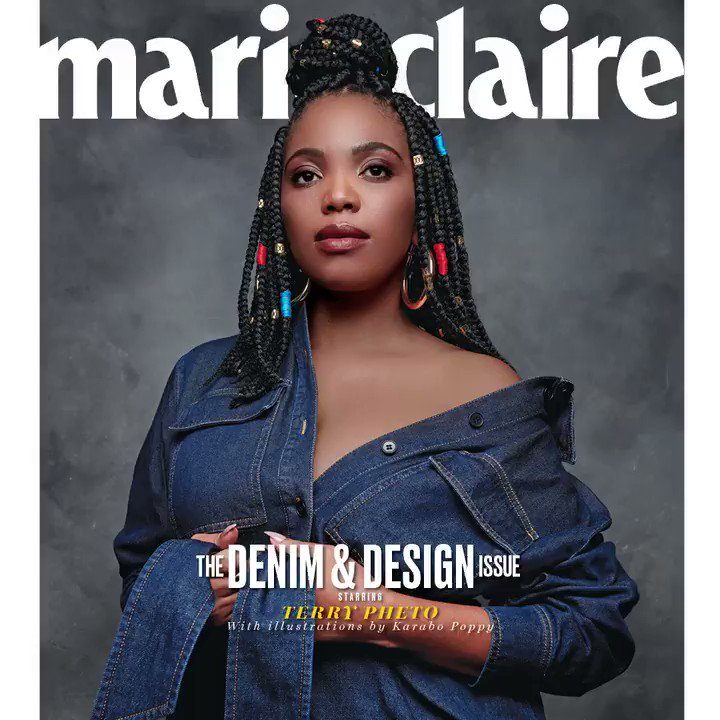 Just a few more days to get yourself a copy of our beautiful June issue starring @TerryPheto and illustrated by @karabo_poppy #MCxTerry #MCJuneCollab bit.ly/2pt5kzB