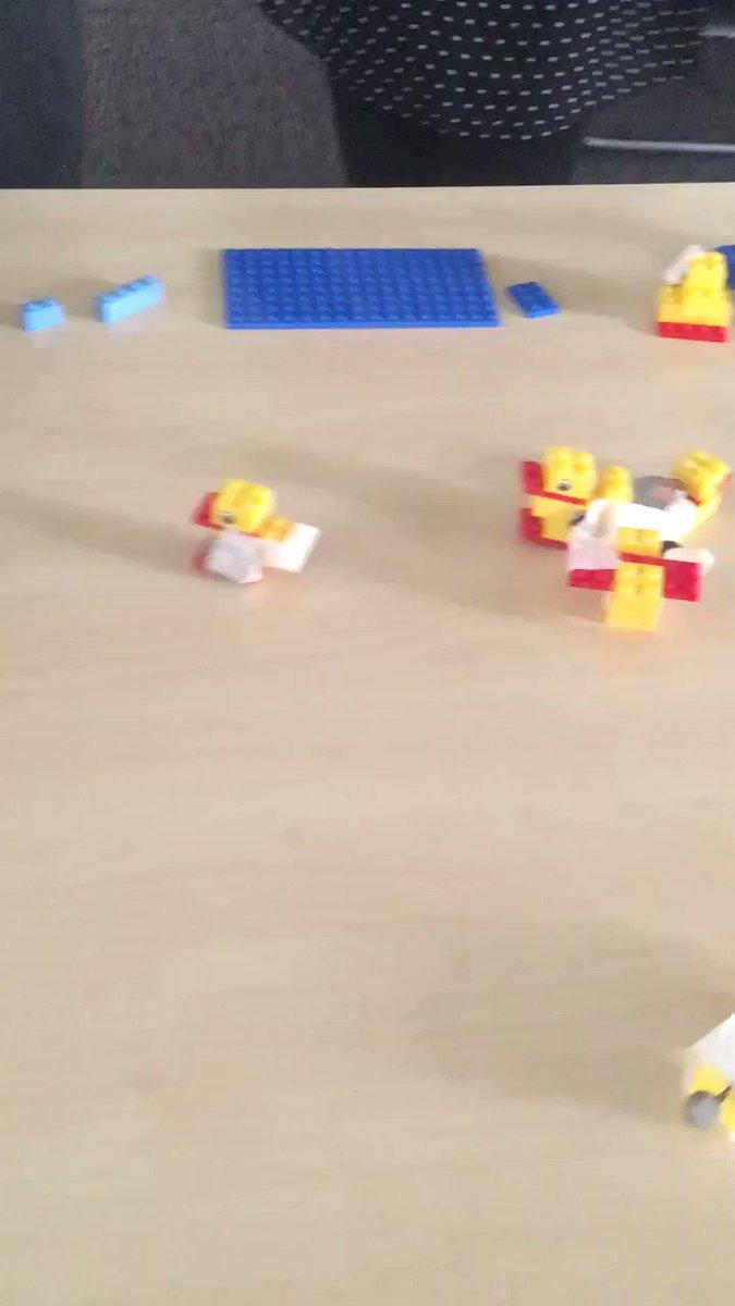 Image for the Tweet beginning: Today we built @LEGOeducationUK powered