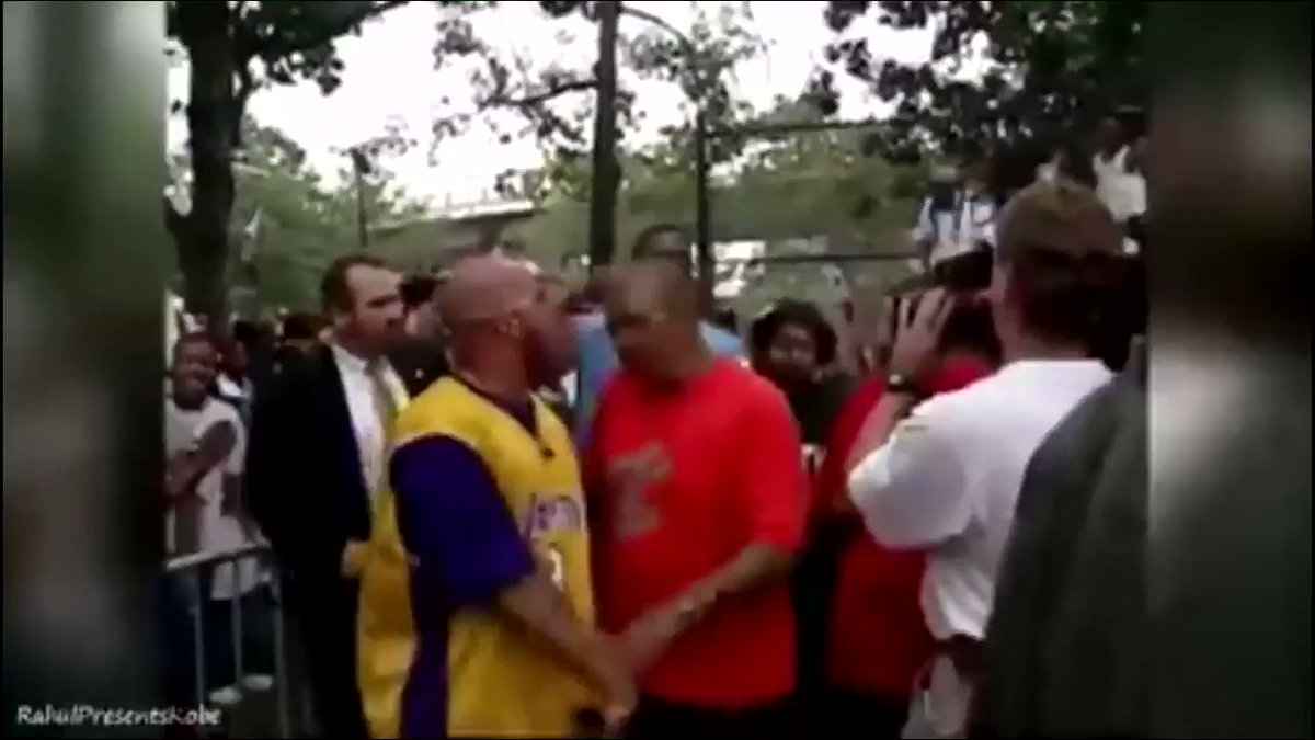 That time Kobe showed up to Rucker Park after the Lakers' 3-peat and put on a show in NYC. #MambaMondays