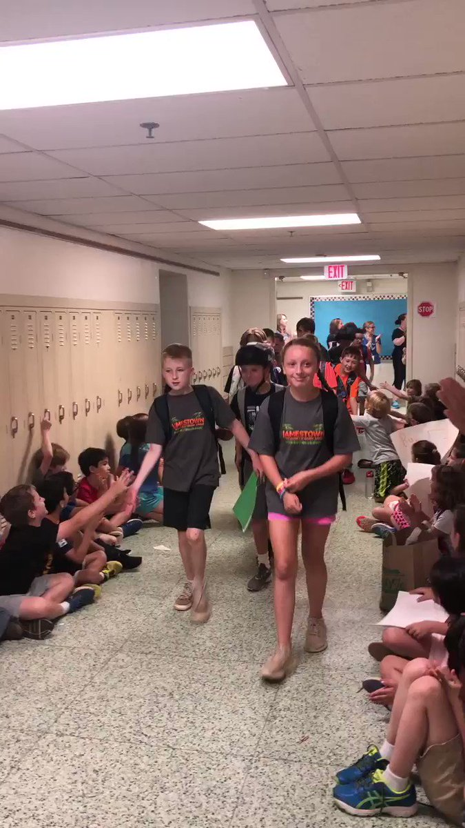 Our traditional clap out for our 5th graders students has begun.  We are so proud of all of you and wish you nothing but success in middle school. <a target='_blank' href='https://t.co/j12Mnaabka'>https://t.co/j12Mnaabka</a>