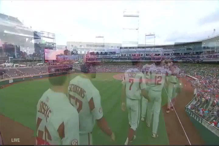 One. Win. Until. Finals. Hogs win 7-4 and will play the winner of Texas Tech/Florida on Friday at 7. https://t.co/Qw3hRzdHxw