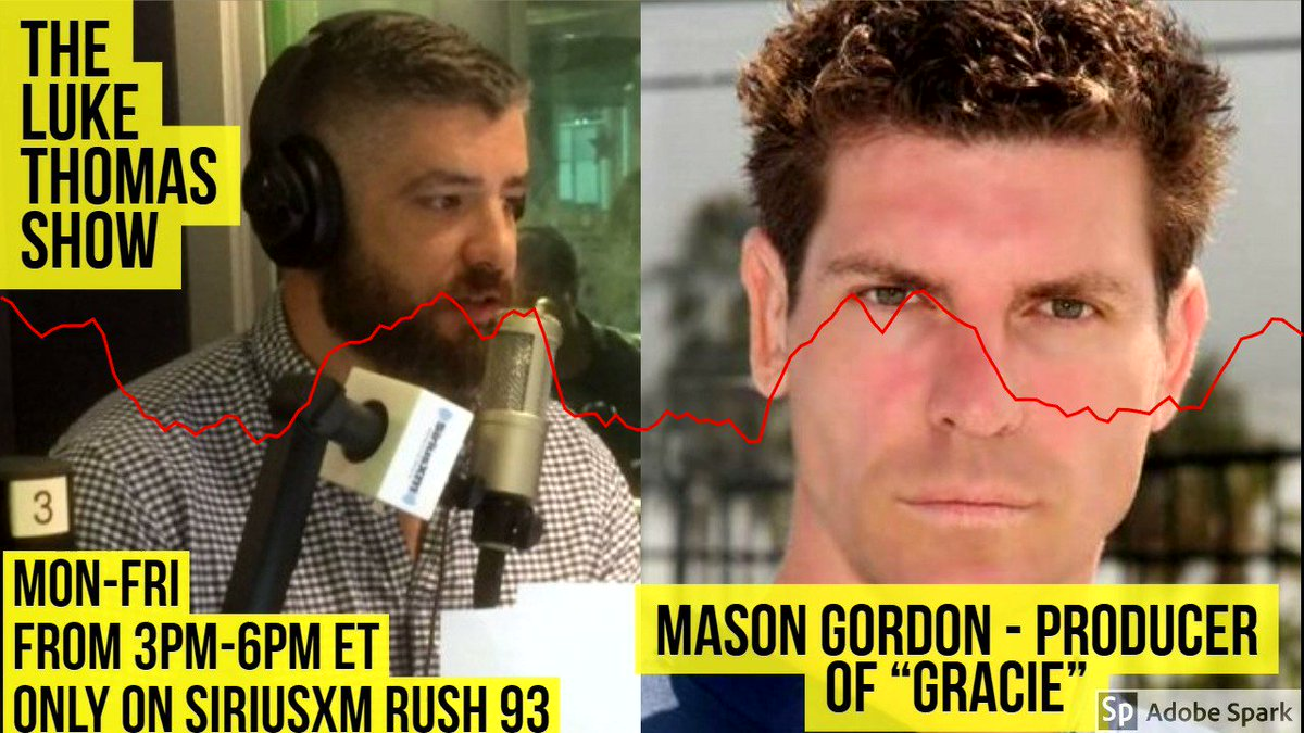 .@masongordon shares some details about the new motion picture being developed on Rorion Gracie and the creation of the UFC #TLTS @lthomasnews