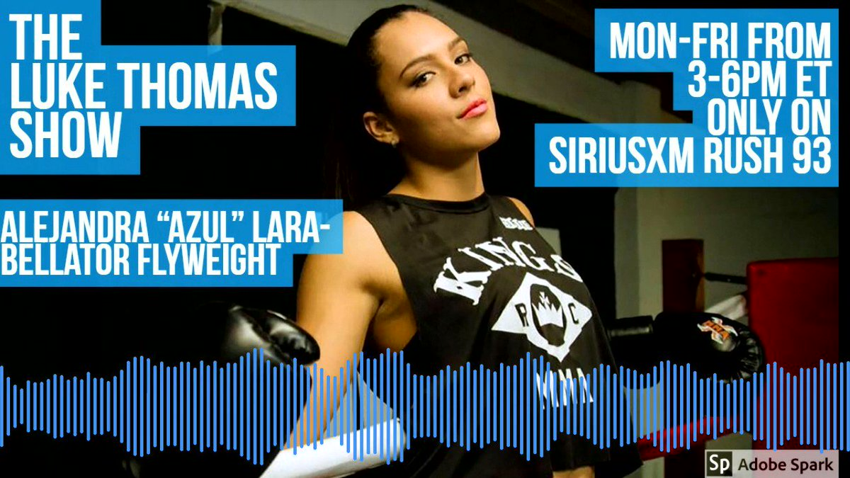 .@alejazulara shares her thoughts on #Bellator201 opponent Ilima-Lei McFarlane and why fighters from Colombia all seem to hail from Medellín #TLTS @lthomasnews