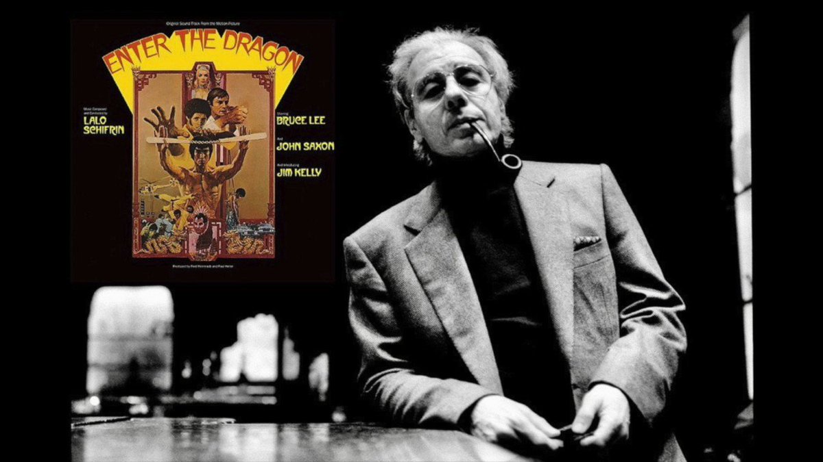 Happy 86th Birthday to the cool sound of 60s and 70s action: movie maestro Lalo Schifrin! #EnterTheDragon #MissionImpossible #Bullitt #DirtyHarry