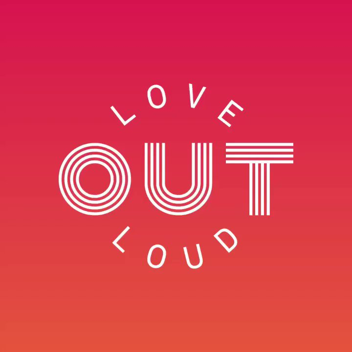 """Sunday's #TCPride Parade is our time to """"Love OUT Loud,"""" celebrating the joy and love we share when we can be our truest selves. #Pride https://t.co/fgmlNbYeSx  Logo by @veronica_k."""