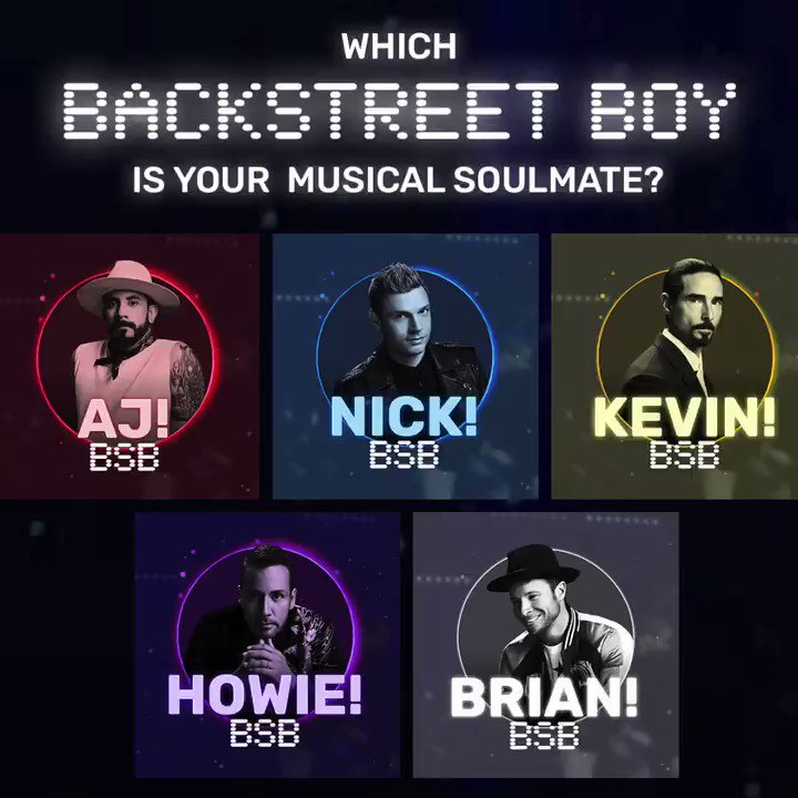 Which one of us is your musical soulmate? Head over to @Spotify to find out! 🎶😉 smarturl.it/BSBmatch
