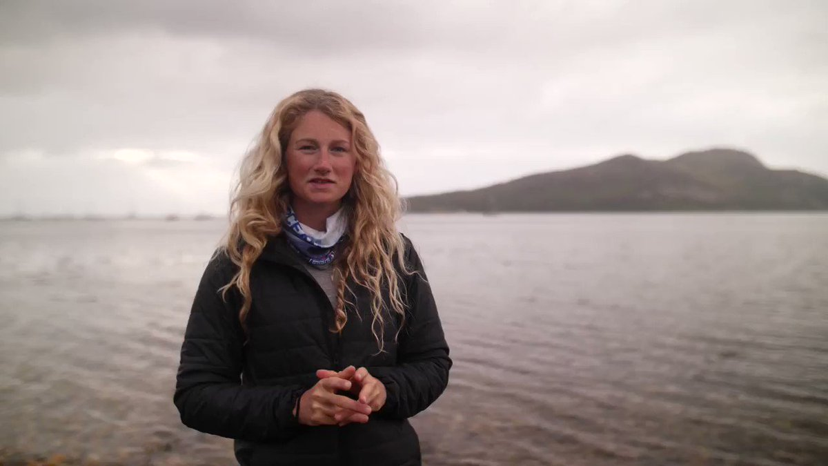 On this #filmfriday @PaddleVsPlastic Cal Major and her monster trip to Arran riding out Storm Hector! #inspirationalwomen #plasticpollution #stormhector