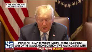 #PresidentTrump Calls Out #OpenBorders Democrat Extremists: Schumer Pelosi And Hillary Created A Massive Child Trafficking Industry Obama Released Children To Traffickers And Used The Children To Flood The Country With Illegals Through #ChainMigration #BuildTheWall