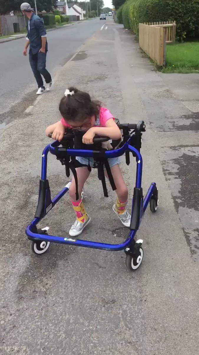 Hi,my name is Vicky & my cute daughter is called Leonie.I really need peoples generosity 2 try & raise £35k or more 4 an SDR operation on my daughters spine that's not funded by the NHS.She has Spastic Quadriplegia C.P & can not walk & is in very bad pain.Plz could u help?💙R💙
