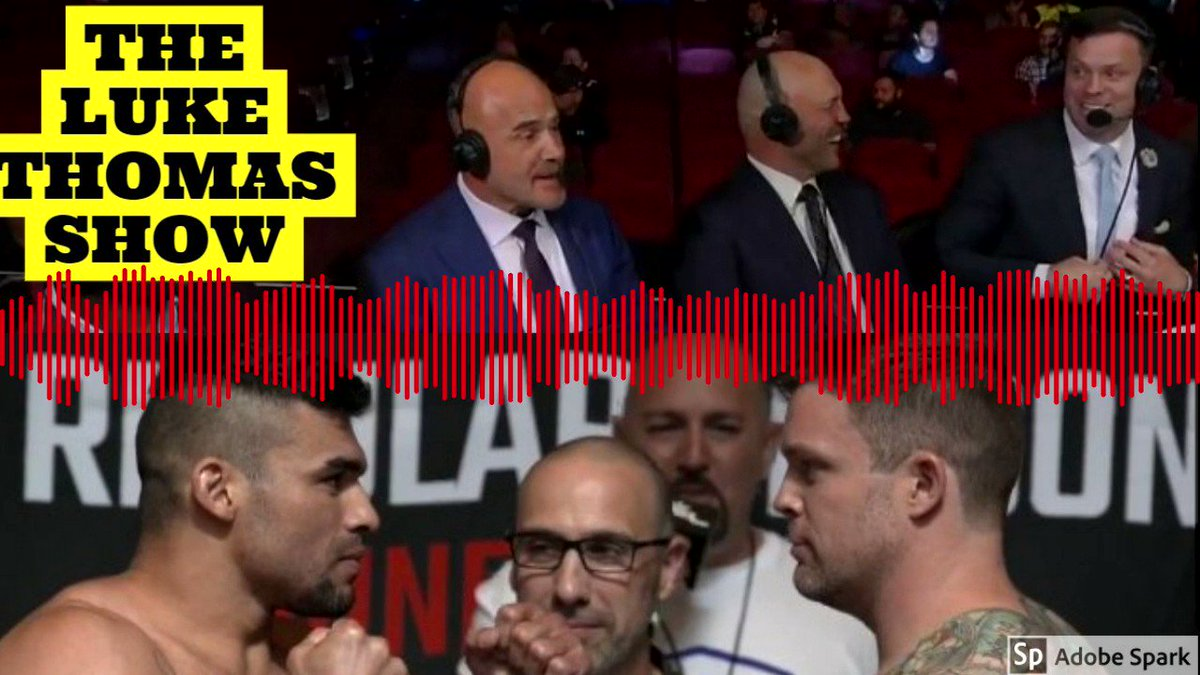 What was it like going from the broadcast desk to cage? @realOCsports describes the experience #TLTS @RJcliffordMMA