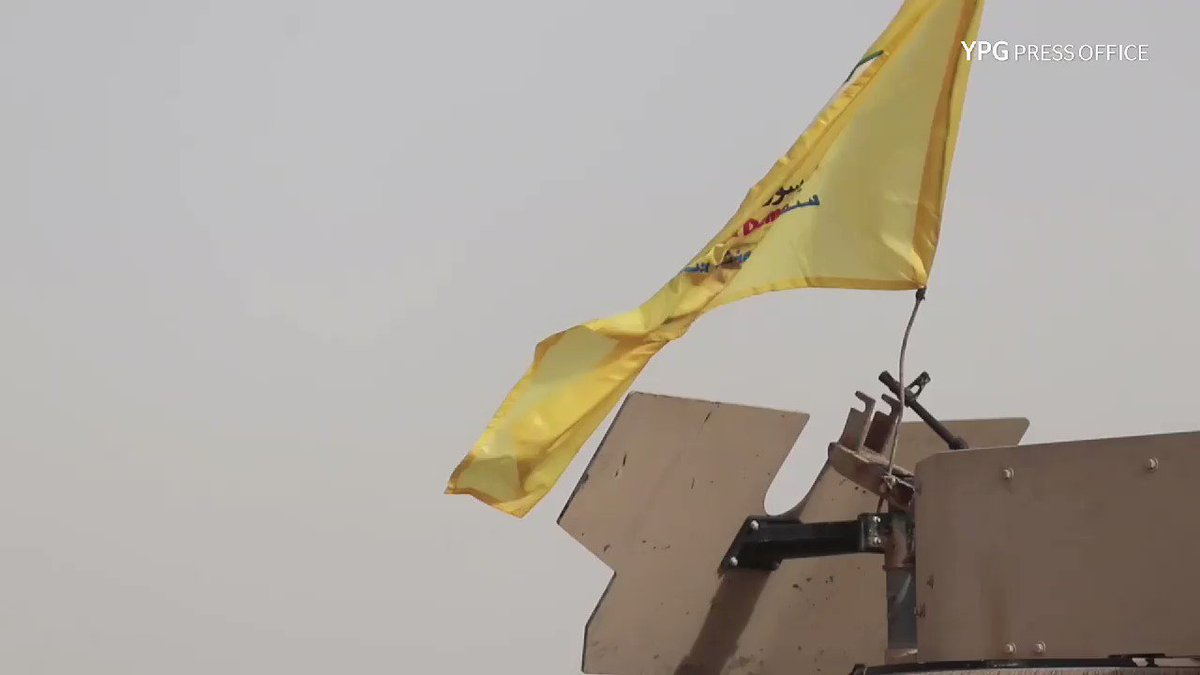 Syrian Democratic Forces and #Iraq/i military officials came together on the border to discuss the joint offensive against #Daesh in Deir al-Zour, northern #Syria. #JazeeraStorm