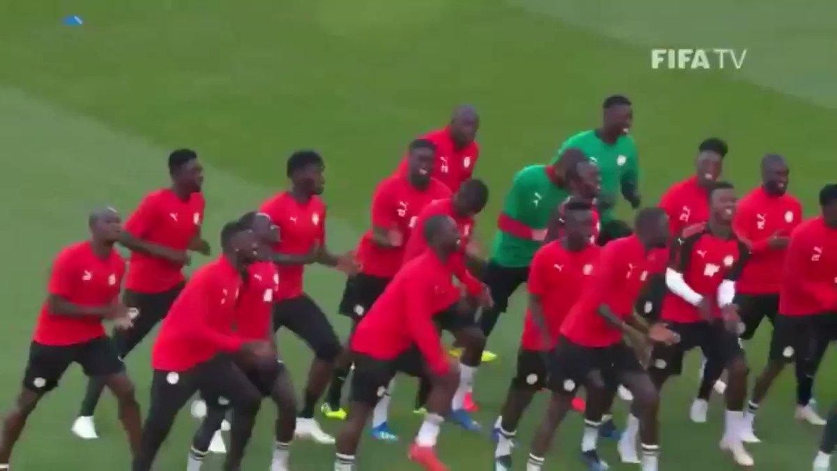 セネガル代表のダンスに「シークレット・グラフィティー」の曲を合わせた俺がバカだった  #SEN