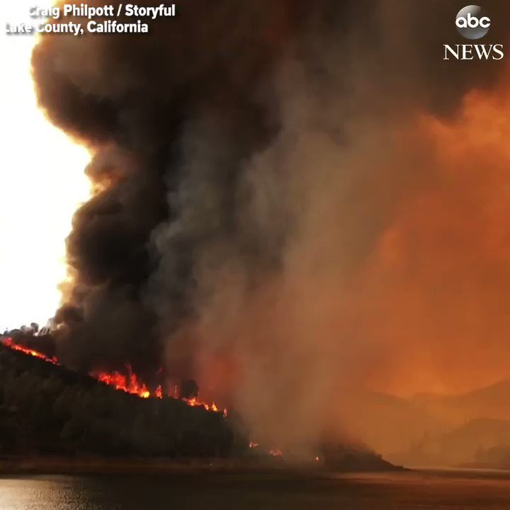 NEW: Gov. Jerry Brown declares state of emergency as Pawnee Fire  has scorched more than 8,000 acres and destroyed nearly two-dozen structures. https://t.co/9ikJXPbFIm