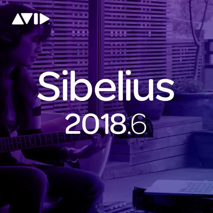 Avid Sibelius on Twitter: