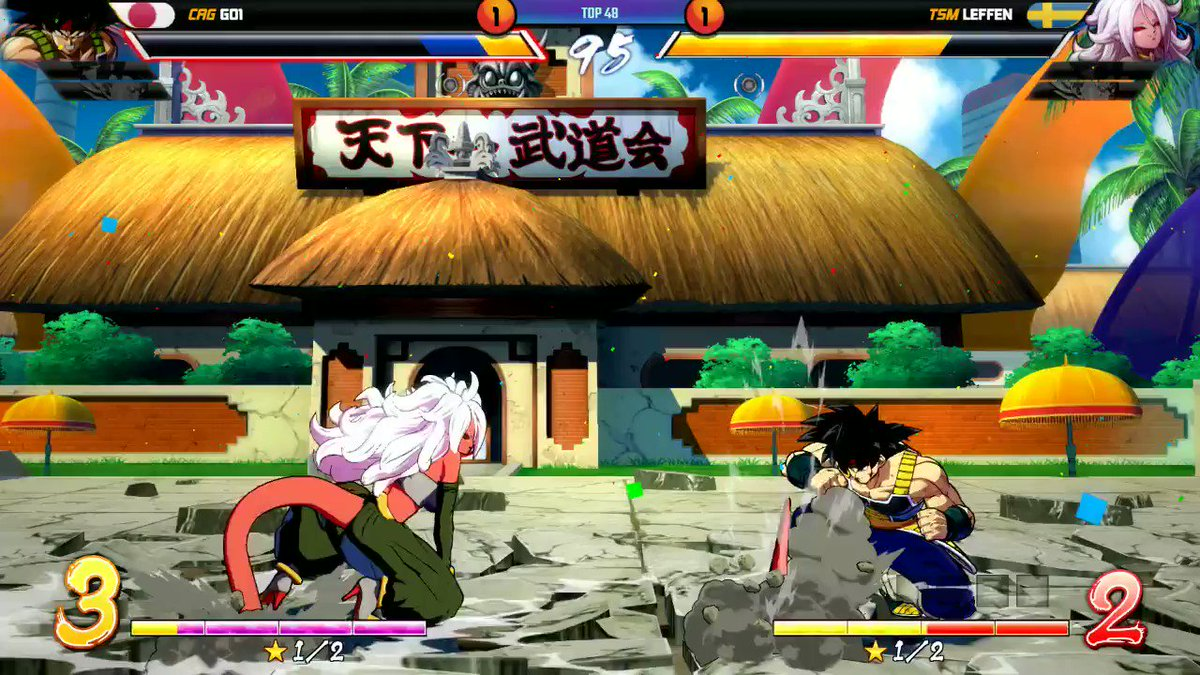 Hands down my favourite FighterZ match of all time 🔥