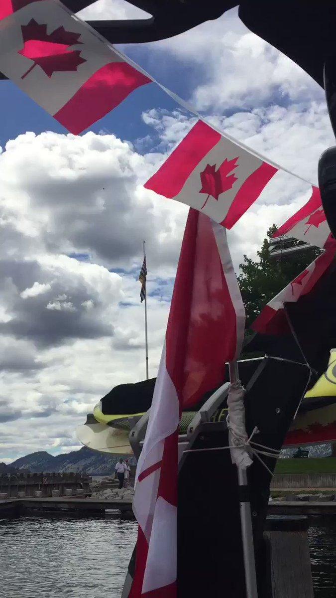 Happy Canada Day everyone! #peachland #canadaday