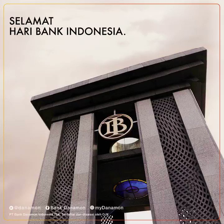Hari Bank Indonesia diperingati setiap 5 Juli dgn lahirnya UU Pokok Bank Indonesia 1953. Sbg bank sentral, BI berperan sbg lembaga yg mengontrol sistem moneter & perbankan negara yg kebijakannya akan berdampak pd perekonomian. #Danamon #HariBankIndonesia #SaatnyaPegangKendali