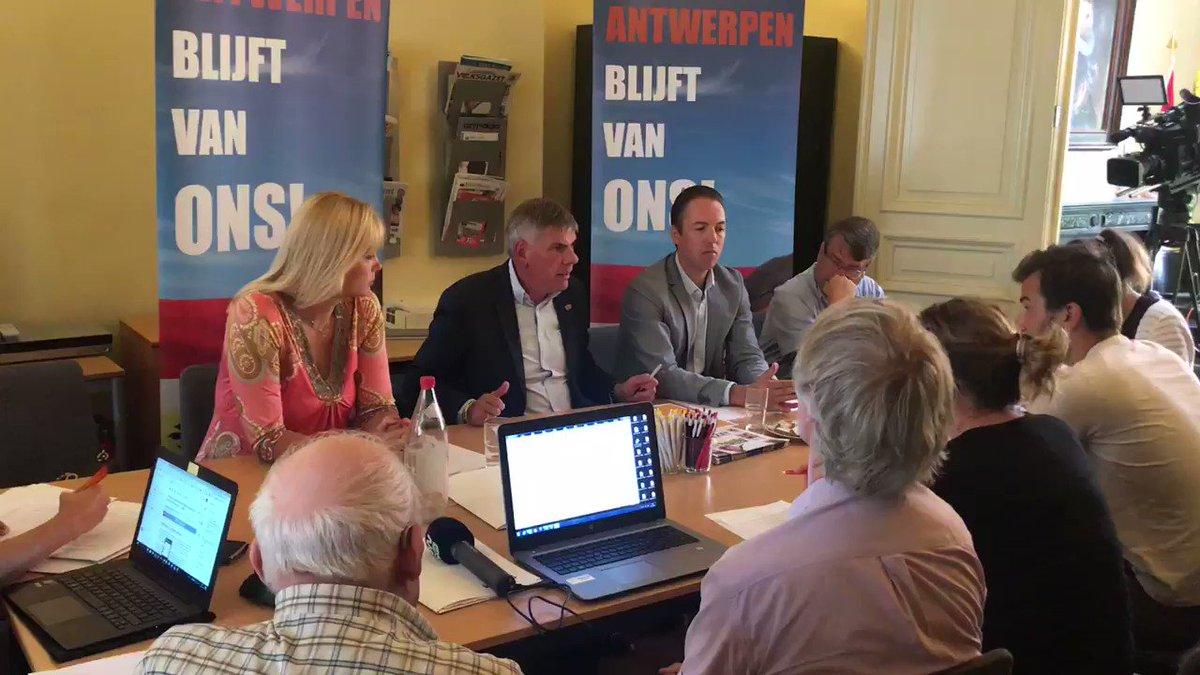 """Filip Dewinter On Twitter: """"Persconferentie Ivm"""