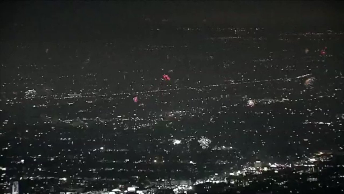 Footage of fireworks in LA last night + the Blade Runner soundtrack (thx @claytoncubitt for the idea)