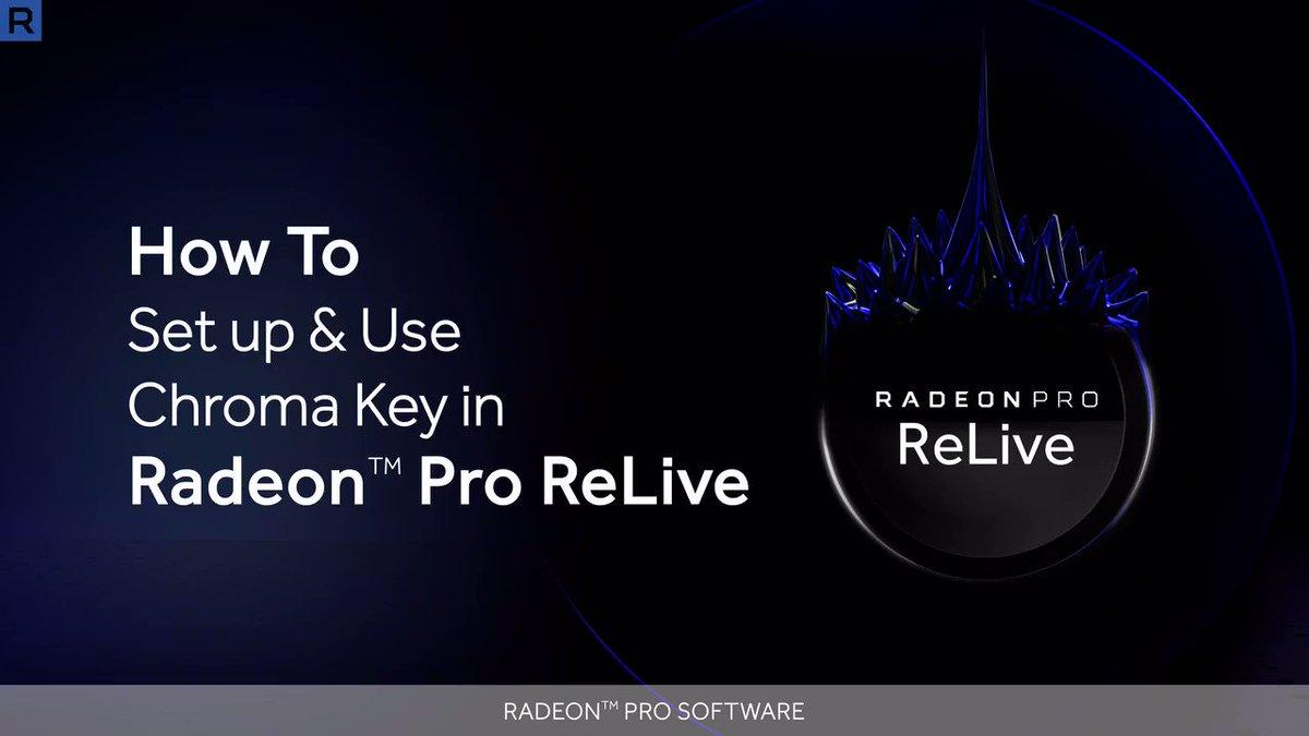 Radeon Pro on Twitter: