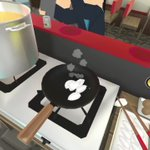 VRって進化してるラーメン屋で働く面白いゲームが笑える