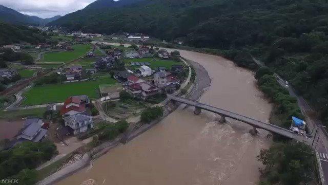 【動画ニュース】広島 JR芸備線の鉄橋が崩れる(動画本編40秒)