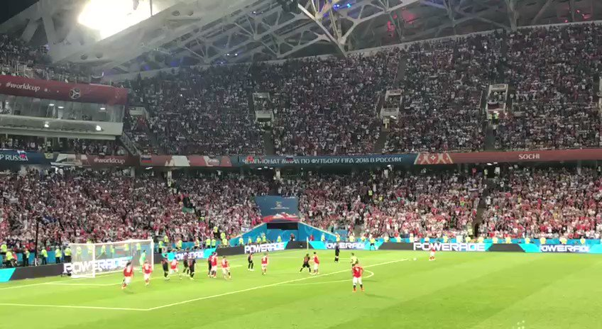 Many thanks to the Russian national team for their performance in this Russia-hosted World Cup
