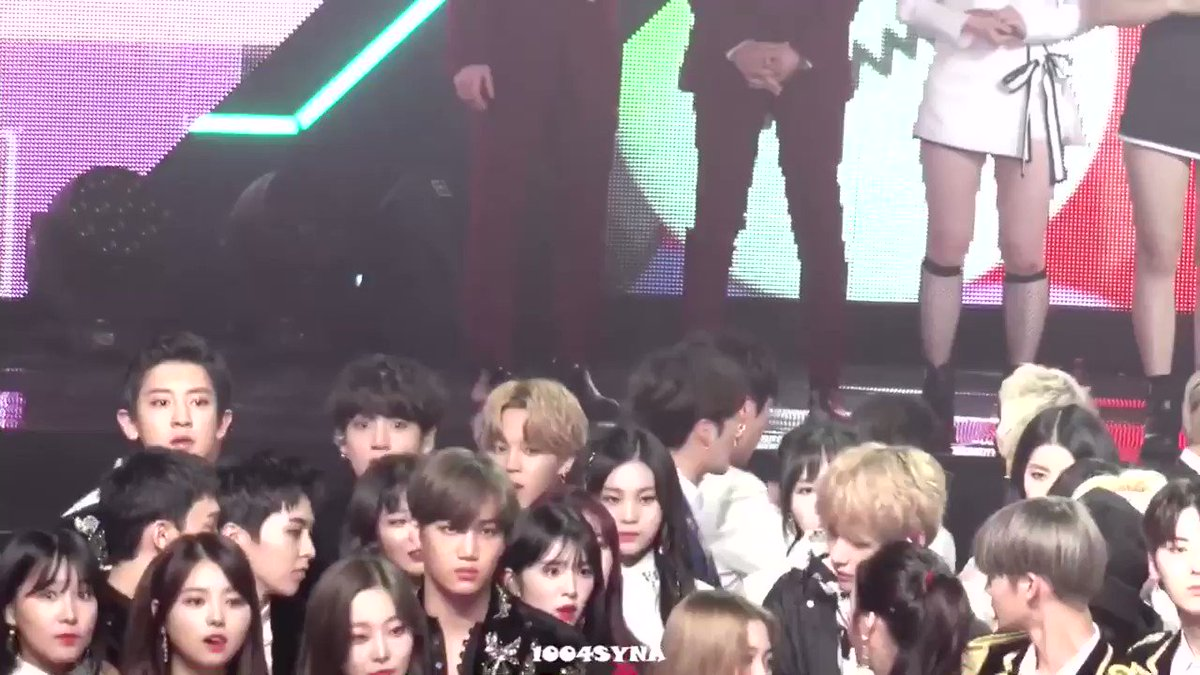 jimin slithering his way to kai lol
