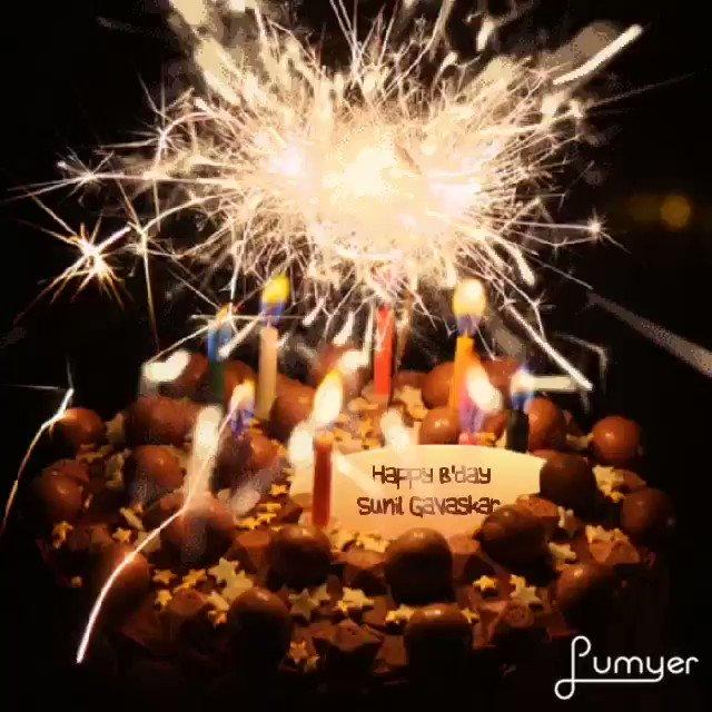 Wish Sunil gavaskar a Happy Birthday to God Blessed You INDIA               ..