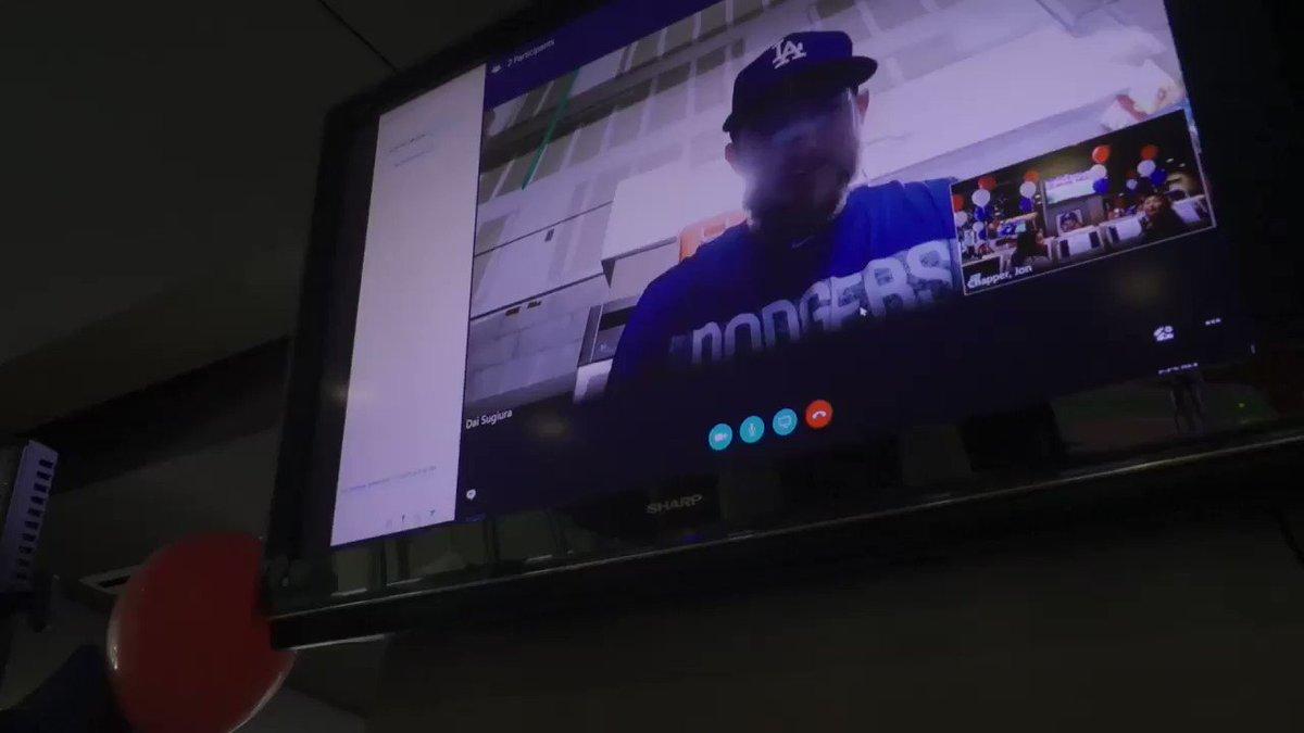 A surprise video chat with @maxmuncy9 at Campaign HQ!   ��: https://t.co/SSqaZ6SgNN  #VoteMuncy | #ASGiancarlo https://t.co/H83R3S9E8d