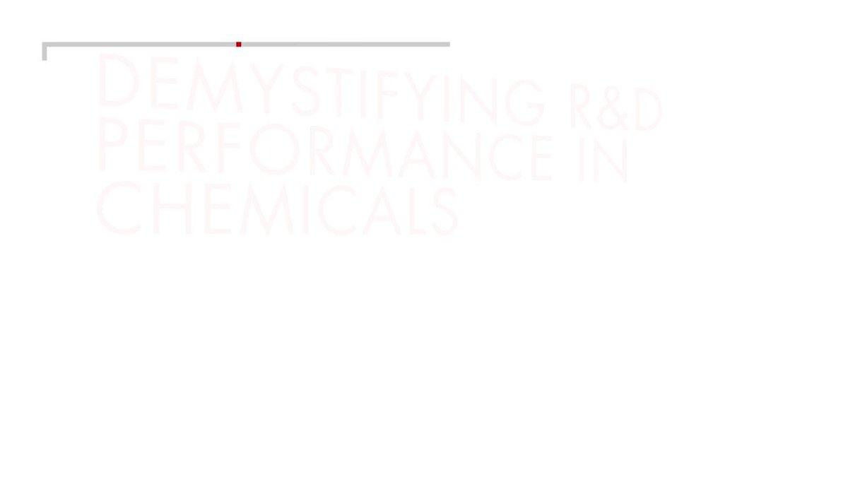 Leading chemical companies avoid three common R&D failures: https://t.co/dRfTWRBzL8 #BainWomenWednesdays https://t.co/J8uGrv8KY2