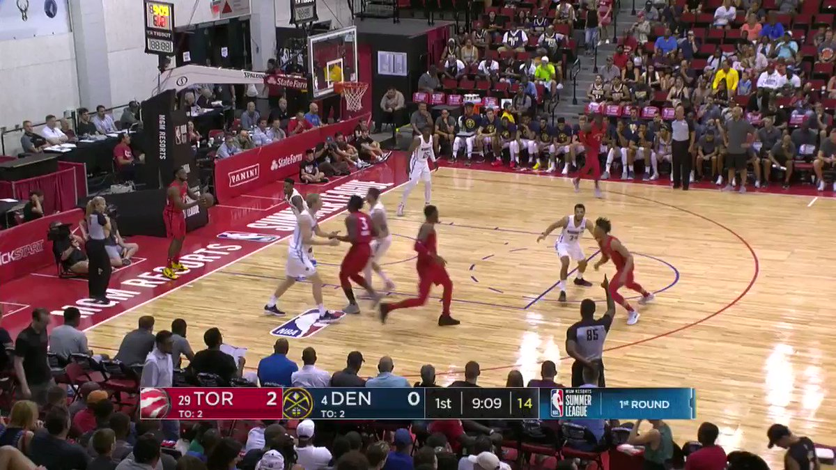 What a way to start the @nuggets action by Malik Beasley!   #NBASummer on ESPN2 https://t.co/akT5wfcuV5