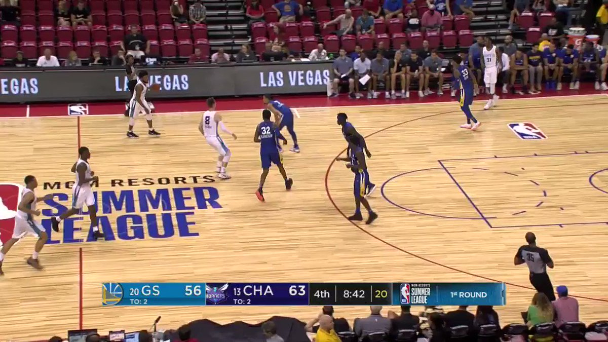 Dwayne Bacon with the shake and bake!  #NBASummer on @NBATV https://t.co/jhqcFBwhUM