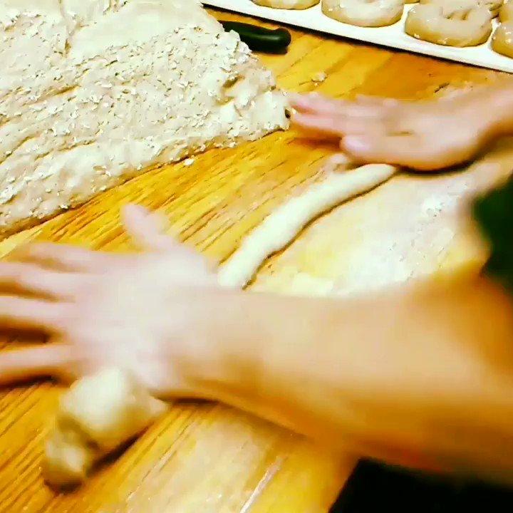 Rolling in the DOUGH 😳 . . . Order Your Custom Design Or Catering For Every Event Made Better -  . .   . #thebagelstore #brooklynbagels #bagelstore #eeeeeats #bagel #bagels #forkyeah #newyorkcity #nyceeeeeats #brooklyneats